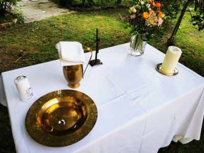 Taufe Altar