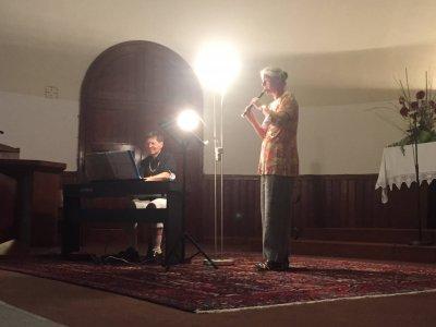 Klavier und Blockflöte beim Open House
